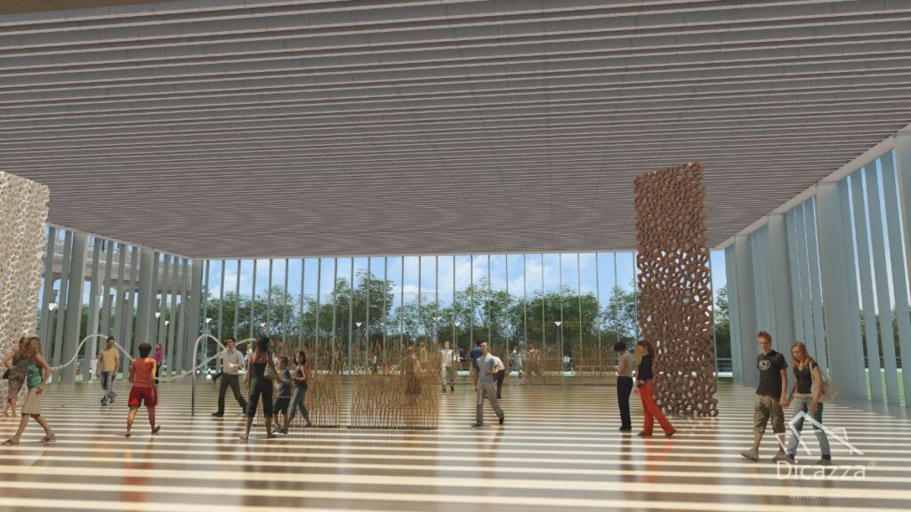 Architectural Animation Panoramic eco Park 04